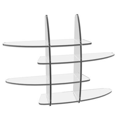 Etag res plexiglas design marcorelles - Etagere plexiglas design ...