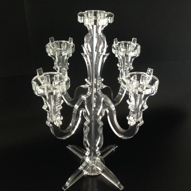 bougeoir 5 bougies plexi incolore marcorelles. Black Bedroom Furniture Sets. Home Design Ideas